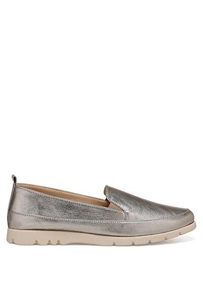BASI2 Gri Kadın Loafer Ayakkabı 100575660
