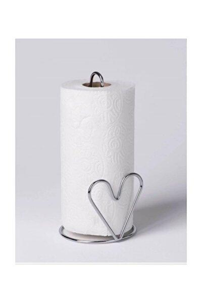 Masaüstü Tezgah Üstü Kalpli Metal Kağıt Havluluk 27 Cm