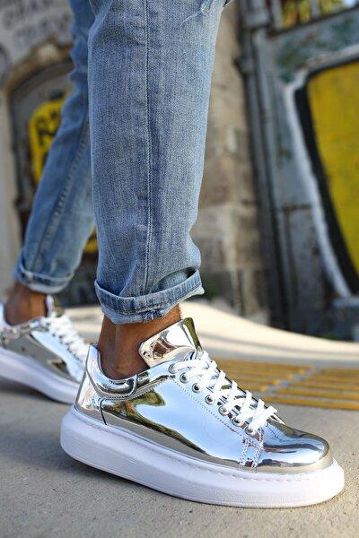Ch260 Bt Kadın Ayakkabı Gümüş