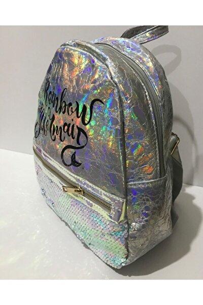 Play Backpack Rainbow Mermaid Sırt Çantası