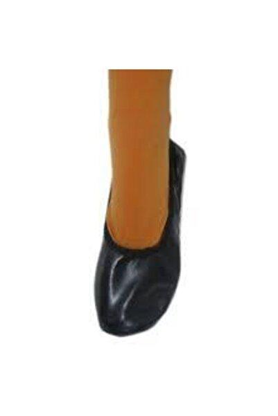 Siyah Pisipisi Bale Ayakkabısı Siparişinizi Bir Beden Byük Vernz