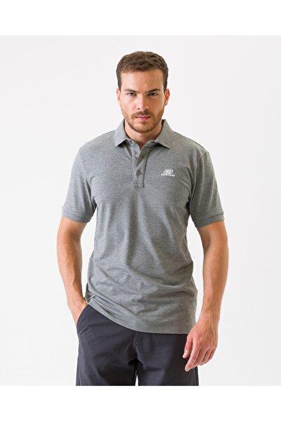 Polo's M Basic Sport Pique Polo T-Shirt Erkek Gri Polo Yaka Tshirt