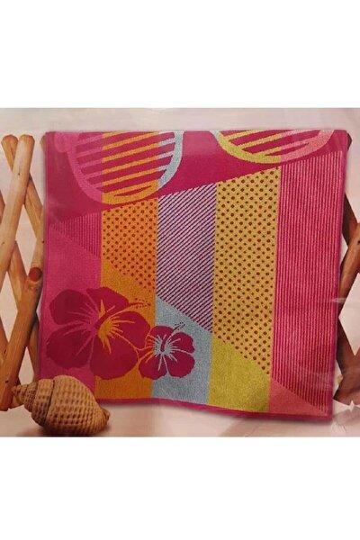 Nice Plaj Havlusu Pink Glass 75*150 Pembe Desenlil