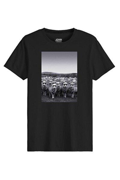 Erkek Baskılı Tişört Jftcool08-sheep