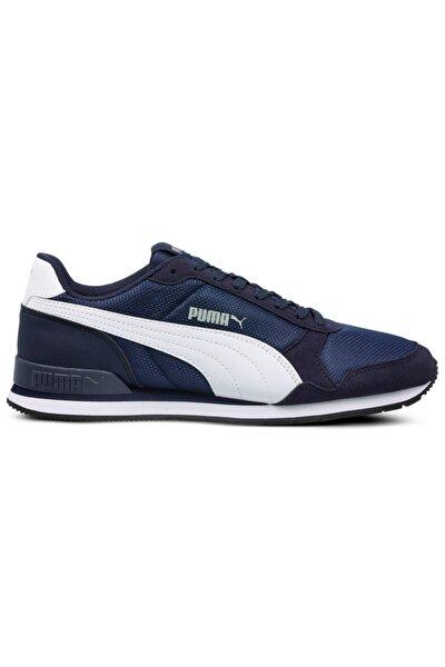 St Runner V2 Mesh Pembe Beyaz Kadın Sneaker Ayakkabı 100415833