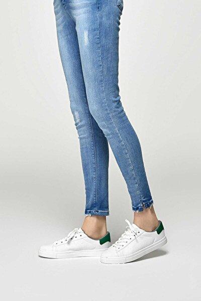 Yeşil Kadın Casual Ayakkabı