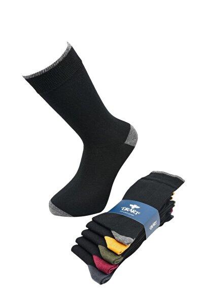 Beşli Asorti Düz Erkek Çorabı