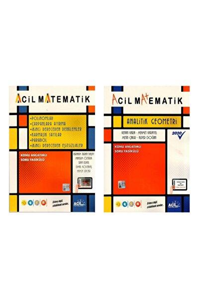 Acil Matematik Analitik Geometri + Tek Kitap 6 Soru Fasikülü 2 Li Set Yeni 2020
