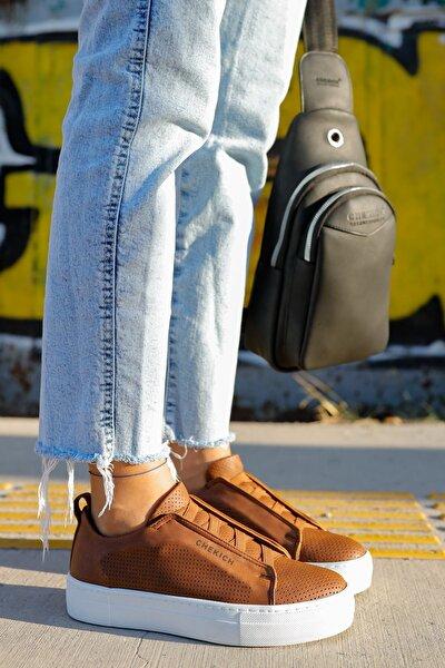 Ch011 Bt Kadın Ayakkabı Taba