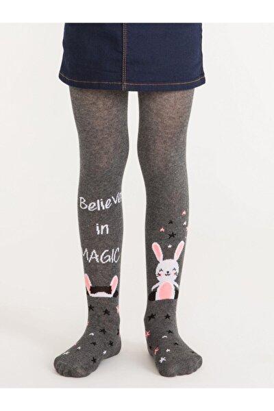 Pretty Magic Bunny Kız Çocuk Külotlu Çorap | Pctpmbug18sk