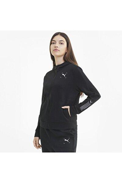 NU-TILITY FULL-ZIP Siyah Kadın Sweatshirt 101119438