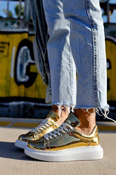 Ch260 Bt Kadın Ayakkabı Altın