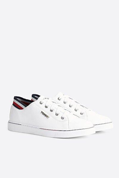 Kadın Beyaz Sneaker Glıtter Detaıl Cıty Sneaker FW0FW04705