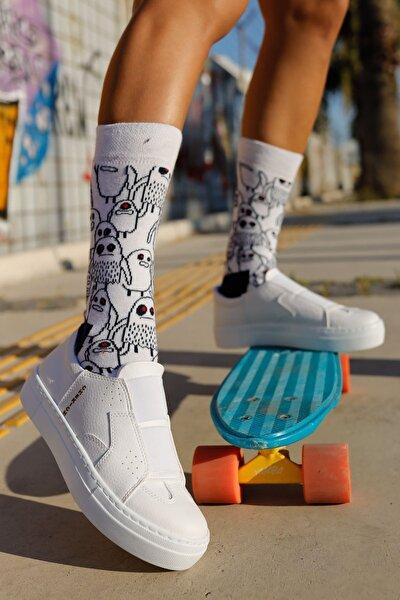 Ch033 Bt Kadın Ayakkabı Beyaz