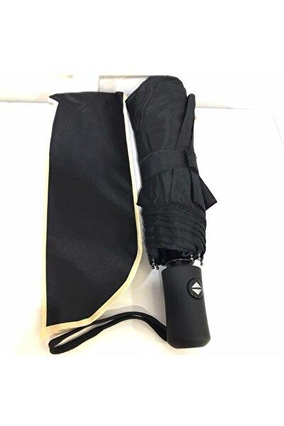 Şemsiye Siyah Ful Otomatik Rüzgarda Esneyebilen Mekanizma