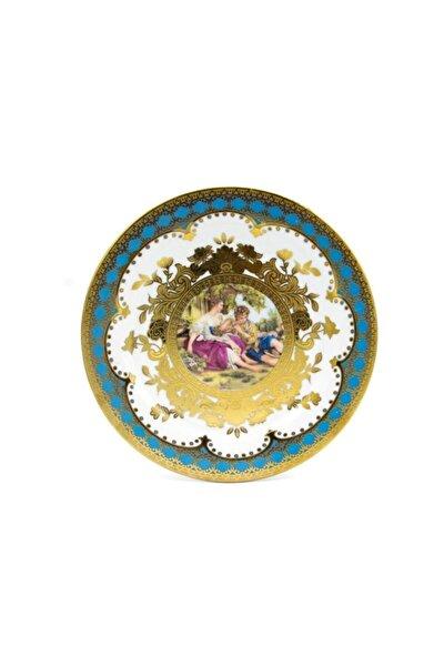Markız Vıntage Porselen 6'lı Pasta Tabağı Elıze-95