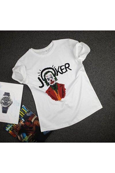 Baskılı Joker Tsört