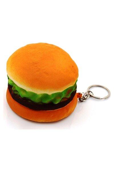 Hamburger Sukuşi Slow Rising Squishy Sukuşi Oyuncak Sukuşi Anahtarlık 7cm*5 Cm