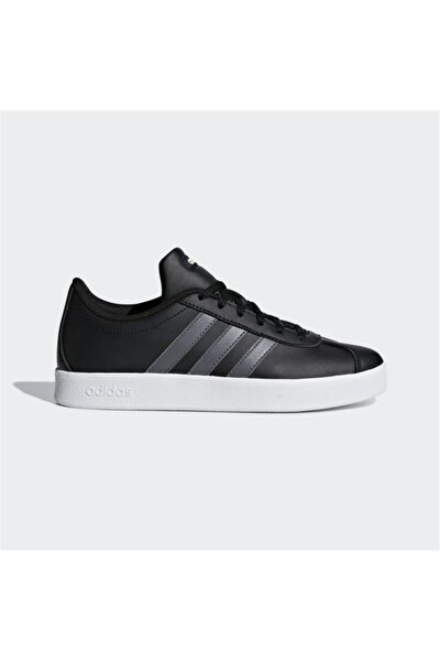 VL COURT 2.0 K Siyah Erkek Çocuk Sneaker Ayakkabı 100403389