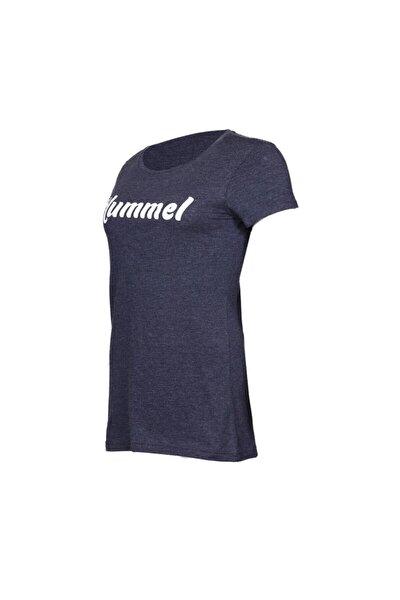 HMLUHIRA T-SHIRT S/S Lacivert Kadın Kısa Kol Tişört 100581029