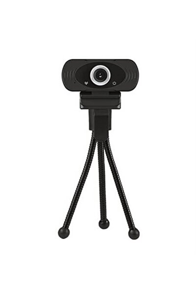 Usb 1920*1080p Full Hd Mikrofonlu Web Camera +tripot Ayak