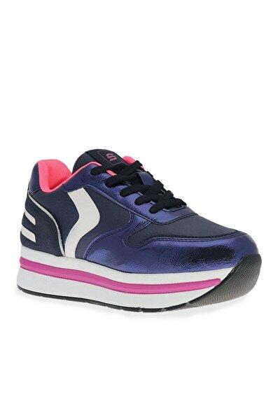 Çizgi Alita Kalın Tabanlı Kadın Spor Ayakkabı