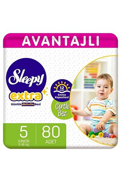 Extra Avantajlı Bebek Bezi 5 Numara Junior 80 Adet