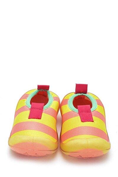 Kız Sarı Çizgili Deniz Ayakkabısı F 474