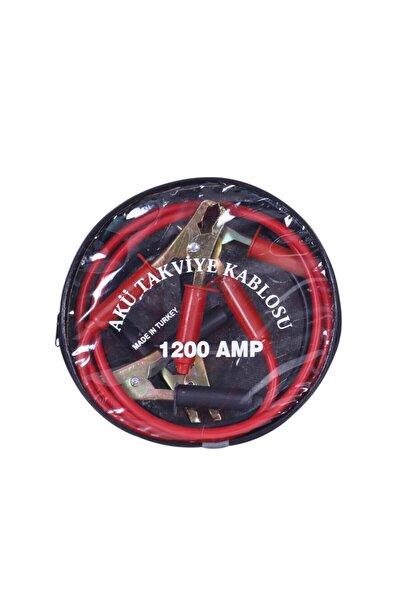 Çantalı Akü Takviye Kablosu 1200 Amper 2 Metre