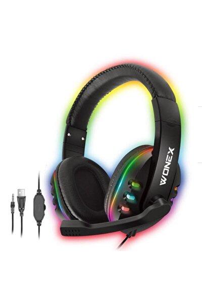 Wonex Wd-103 Rgb Led Işıklı Oyuncu Kulaklığı