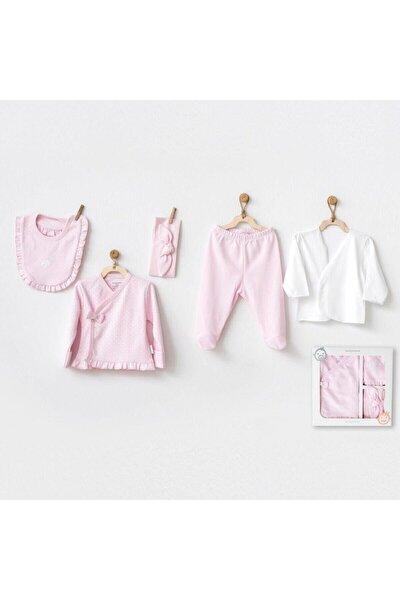 My Little Bunny Dream 5 Parça Zıbın Seti Pink