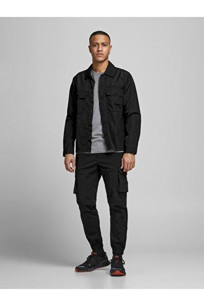 Erkek Siyah Jjıgordon Jjross Cargo Pantolon Akm Black 12185787