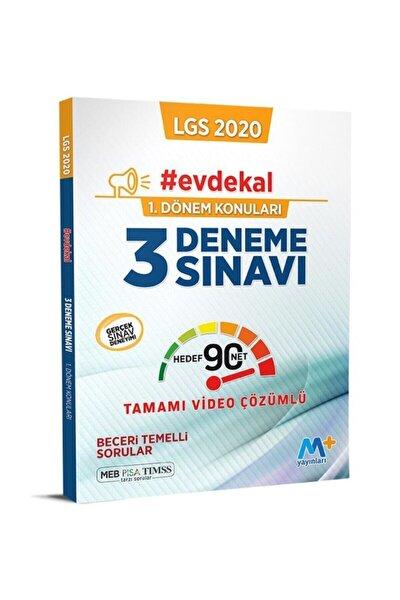 Martı Lgs 8.sınıf 1.dönem 3lü Deneme Sınavı Video Çözümlü 2020 Evdekal