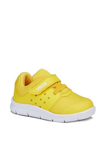 Mario Unisex Bebe Sarı Spor Ayakkabı