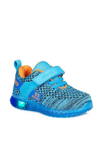 Alfa Erkek Çocuk Mavi Spor Ayakkabı