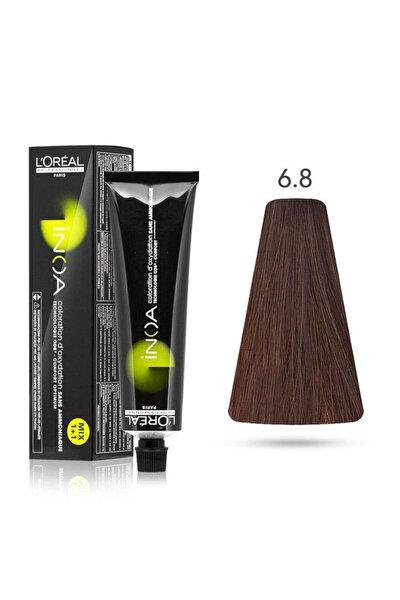 Saç Boyası 6.8 Orta Çikolata Kahve 60 Ml