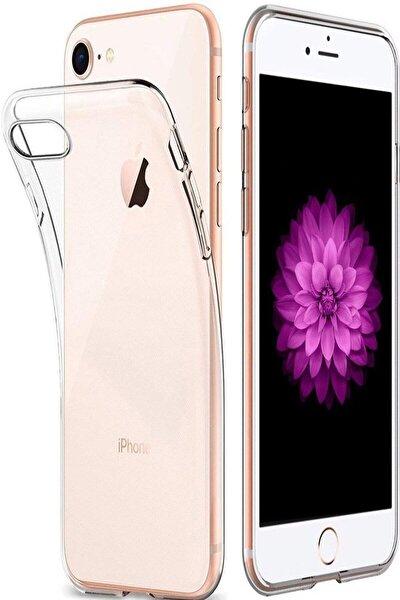 Iphone 8 Slim Silikon Kılıf Şeffaf