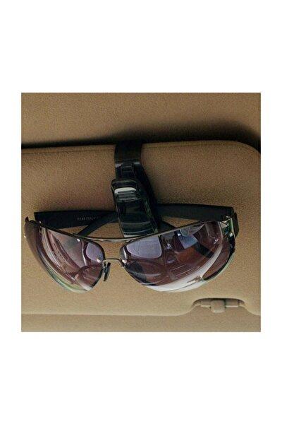 Oto Araç Içi Gözlük Tutucu Klips Güneş Gözlüğü Kartvizit Tutacağı