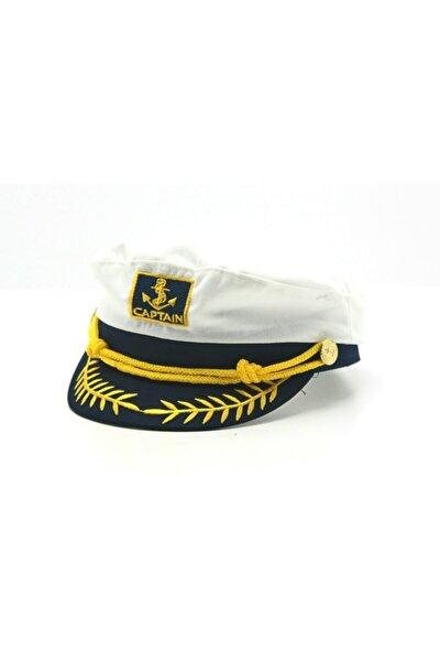 Denizci Model Kaptan Şapkası