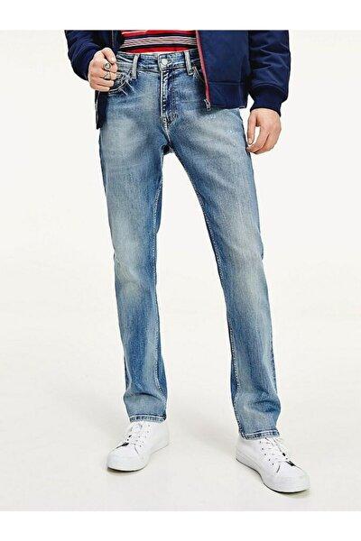 Erkek Th Scanton Slim Denim Pantolon