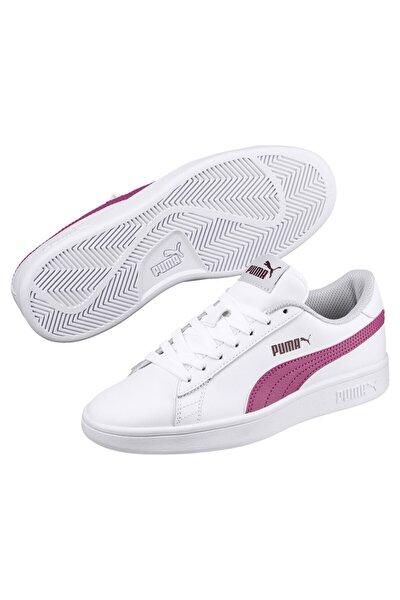 SMASH V2 L JR Beyaz Kadın Sneaker Ayakkabı 101119211