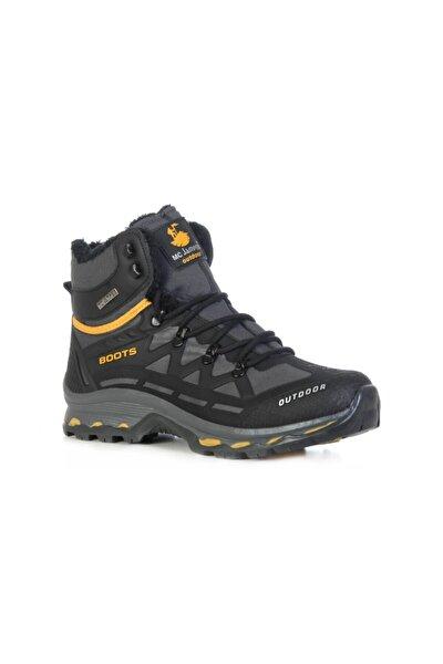 Siyah Füme H.sarı Outdoor Trekking Bot Wb-1821