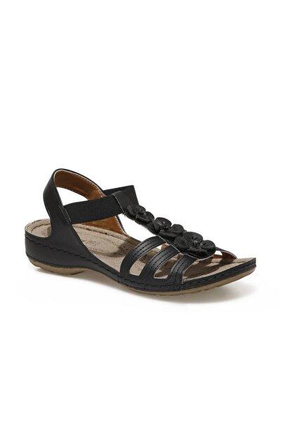 91.157362.Z1FX Siyah Kadın Sandalet 101020325