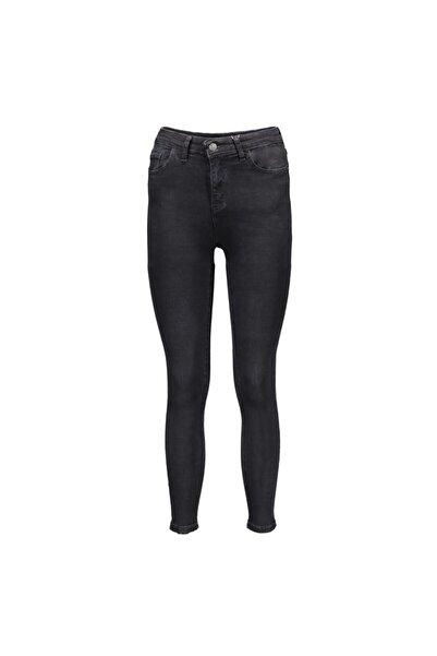 Sıyah Kadın Denim Pantolon