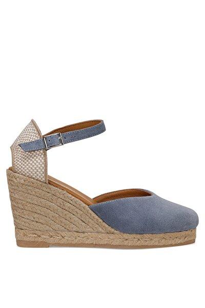 FEDE Mavi Kadın Topuklu Ayakkabı 100526031