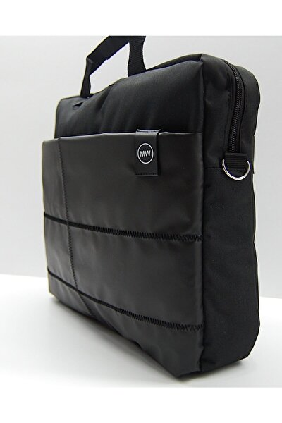 """15.6"""" Siyah Evrak Bilgisayar Notebook Laptop Çantası"""