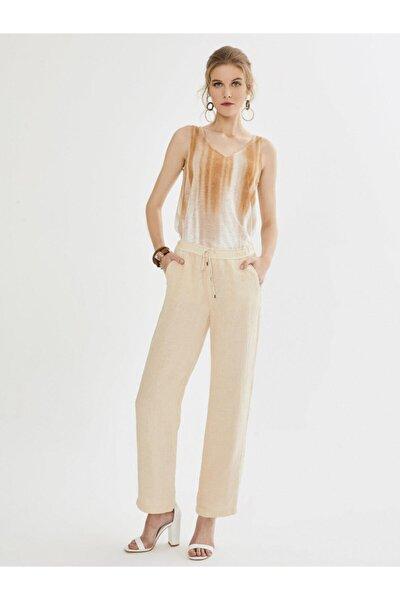 Xınt Normal Bel %100 Keten Pantolon