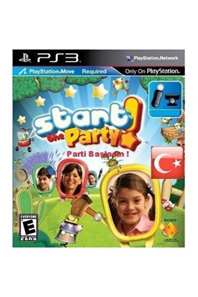Dahaaa Ucuzu Yok Playstation 3 Oyunu ( Start The Party Türkçe Ps3 ) Move Uyumlu --2.el--
