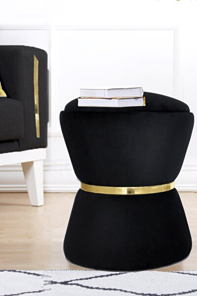 Fine Black-gold Puf