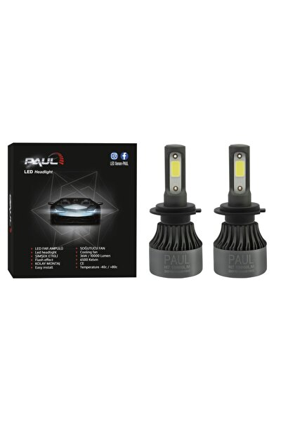 H7 Paul Led Far Xenon 10.000 Lümen Güç